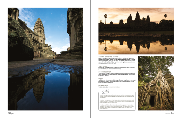 Angkor Wat reflections