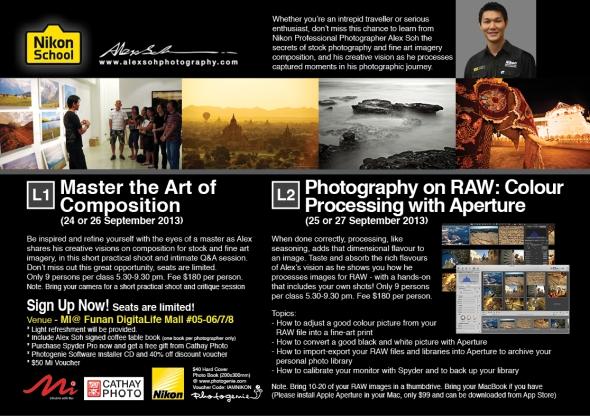 Alex's Workshop Brochure