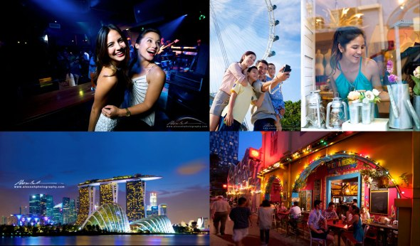 Commercial shot for Singapore Tourism Board